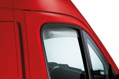 Anti-turbulence deflectors for Fiat Professional Ducato