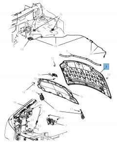 Bonnet for Lancia Voyager