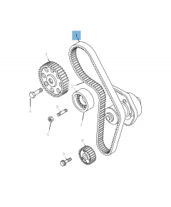 Timing belt for Jeep Compass