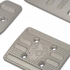 Aluminium sport pedal set - automatic transmission