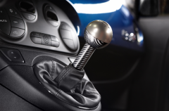 Gear knob in carbon fibre