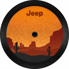 Spare Tire Cover Desert