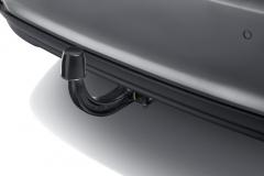 Detachable trailer hitch for tipo 5door