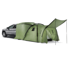 Camping tent for roof