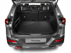 Luggage compartment protection for Jeep Cherokee
