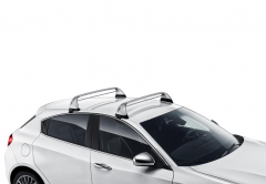 Aluminum roof carrier bars for Alfa Romeo Giulietta