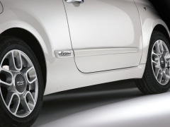 Side bumper guards for Fiat 500