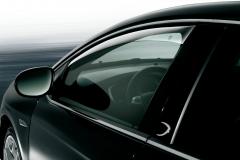 Front air deflectors for Lancia Delta
