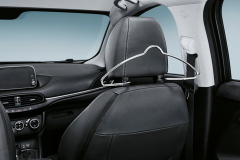Coat hanger hanger and headrest hanger