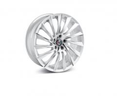 Kit 4 Wheels, 18'' Colour Diamond-Cut Opaque White