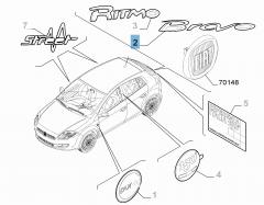 Rear for Fiat Bravo