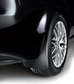 Rubber rear mudflaps mudguards for Alfa Romeo 159