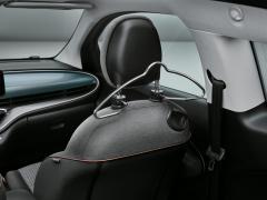 Coat hanger on headrest
