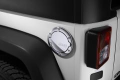 Chrome Fuel Filler Door