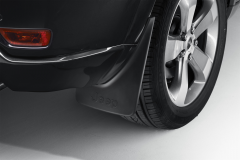 Rear moulded splash guards mudflaps for Jeep Grand Cherokee