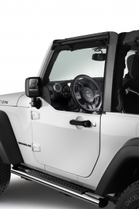 Front half doors for Jeep WRANGLER.