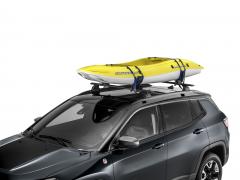 Roof kayak holder for Jeep Wrangler