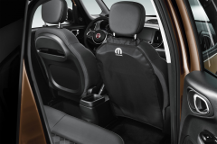 Rear seats cover for Fiat and Fiat Professional