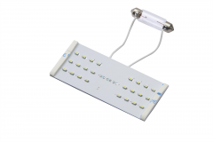 LED light bulbs kit for rectangular ceiling light