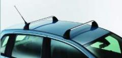 Aluminum roof carrier bars for Fiat Idea