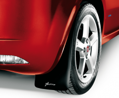 Mudguard rear rubber for Fiat