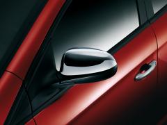 Car mirror cover caps polished chrome