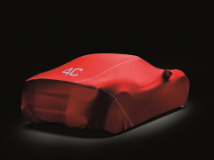 Indoor car cover for Alfa Romeo 4C
