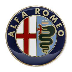 Alfa Romeo Logo rear door for Alfa Romeo