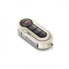 Key cover zip twin pack for Fiat 500