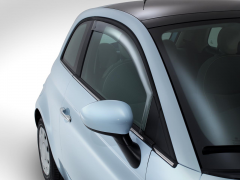 Wind deflectors for windows for Fiat 500