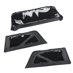 Rear window kit for soft top 2 doors model