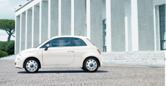 15'' vintage wheel covers kit for Fiat 500