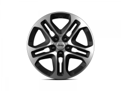 17'' Single Alloy Wheel