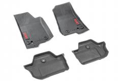 Rubber mats for Jeep Wrangler (2-door)