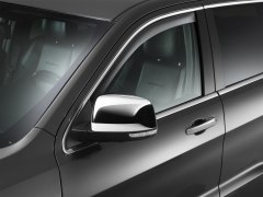 Tinted air deflectors for front windows for Jeep Grand Cherokee