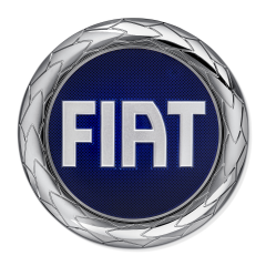 Front Fiat badge for Fiat and Fiat Professional
