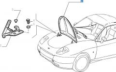 Hood for Fiat Barchetta (1995-2004)