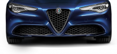 Front Grille With Carbon Fibre Insert For Giulia And Super Versions