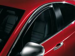 Door window deflector kit for Alfa Romeo Giulietta